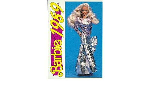 """Barbie Collectible Fashion Card  /"""" Pink Jubilee 30th Anniversary Barbie /""""  1989"""