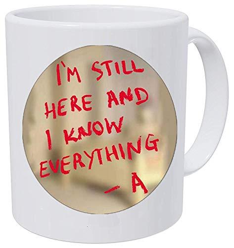 Pretty little liars logo Copper Chain Women Choker Statement Coffee Mug]()