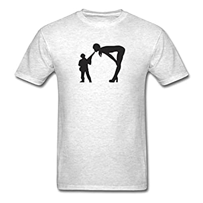 XW Custom Design Men's Sexy Plastic Army Man T-Shirts Light oxford