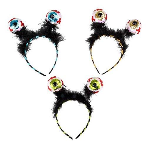 Halloween Costime (Eyeball Headband (Pack of 3))