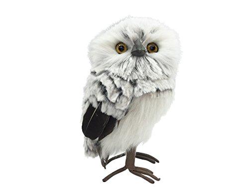 7 Inch High Decorative Owl   Christmas Woodland Owl