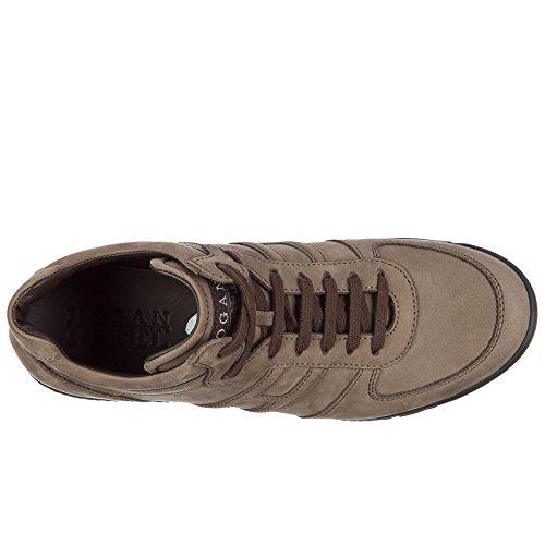 La Libre Elección De Envío Hogan Rebel Scarpe Sneakers Uomo in Pelle Nuove Marrone Precio Más Barato El Precio Barato Salida 100% Auténtico Precio Más Barato En Línea Barato Venta Enorme Sorpresa En Línea EvhLAhDH3