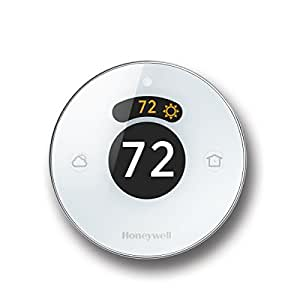 Lyric Round 2.0 Wi-Fi Smart Programmable Thermostat with Geofencing, IFTTT, Works with Amazon Alexa