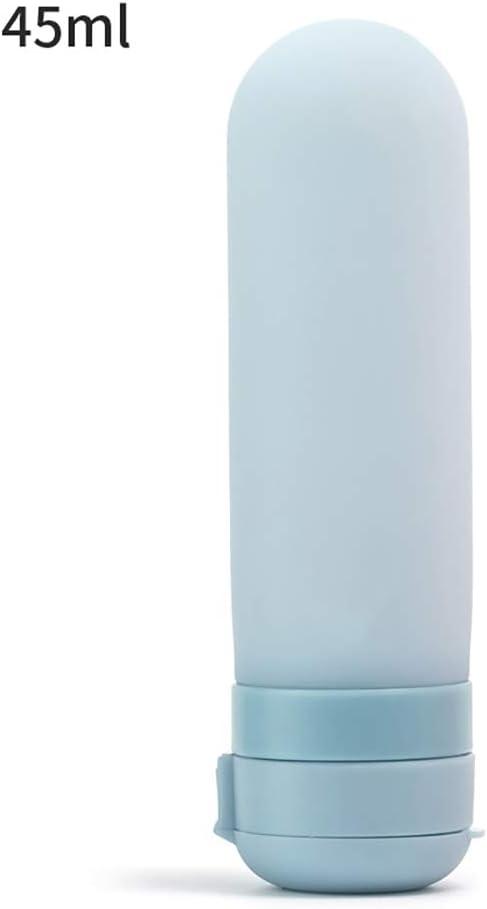 34 Outtybrave Cute Coque en Silicone Flacon Rechargeable Voyage Souple de Voyage Jeux de Tube pour shampoing Apr/ès-shampoing Rose Rose 110 31mm