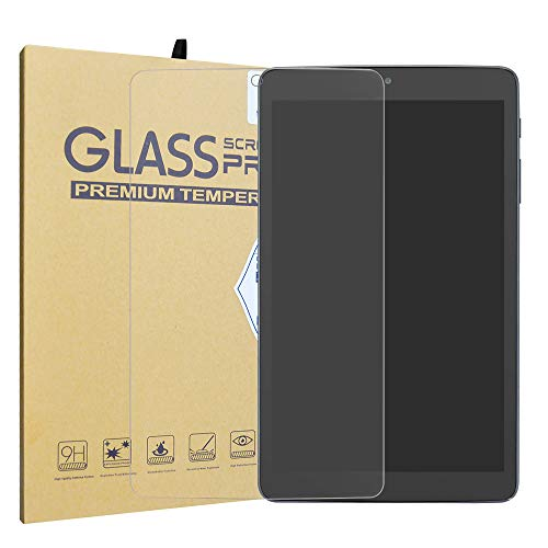 Alcatel 3T Tempered Glass Screen Protector,LiuShan HD Clear Scratch-Resistant 9H Hardness Film for 8.0 Alcatel 3T 8 Inch Tablet(2018) Tablet.