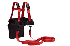 Lucky Bums Ski Trainer, Red/Black