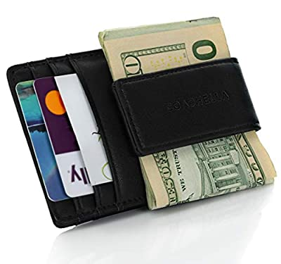 COACHELLA Mens Money Clip and Credit Card Holder | RFID Money Clip Wallet
