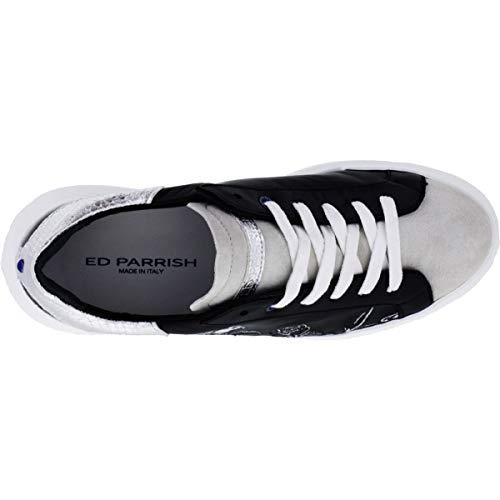 Mujer Ed Cuero Parrish Para Blanco Coloreado Zapatillas De X6wwnFrq