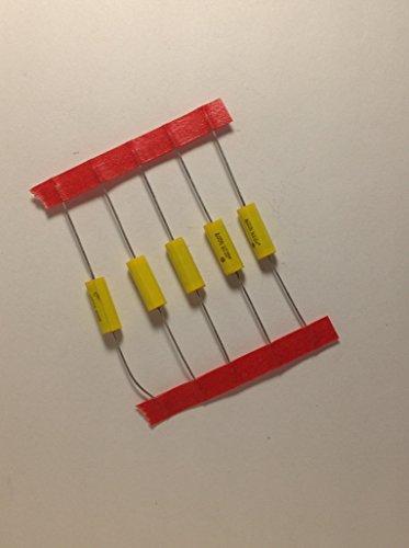 (5 Pack .022uf 400v Axial Film Guitar Tone Capacitors)