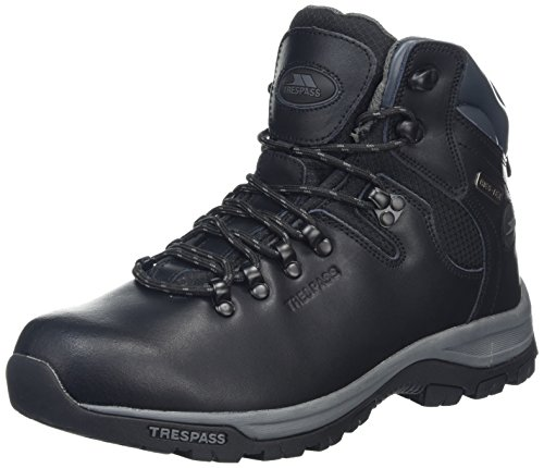 Black Hiking Unisex Trespass Adults' High Hillden Black Rise Boots A1cnP8Wc
