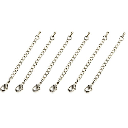Generic Necklace Extender Sterling Waterdrop