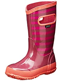 Bogs Kids Stripes Waterproof Rain Boot (Toddler/Little Kid/Big Kid)