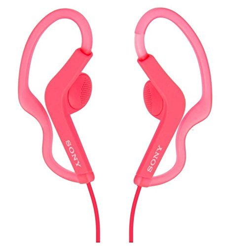 Sony Extra Bass Active Sports In Ear Ear Bud Over The Ear Splashproof Premium Headphones Deep-Pink Limited Edition