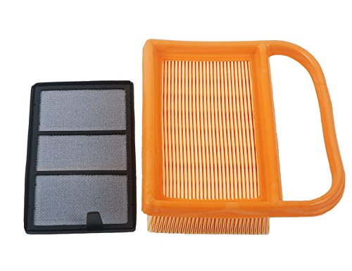 HIFROM(TM) Replace Air Filter + Pre Filter Fit for BR320 STIHL TS410 TS420 Lawn Mower Replace 4238-140-1800 4238 140 4401 42381410300B Wholesale & Retail