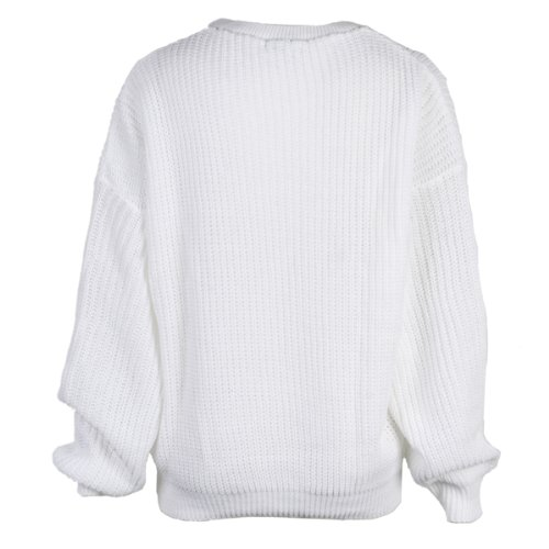 My1stwish Womens Oversized Ladies Knitted Baggy Chunky Jumper Sweater Top  free shipping d97e3685d