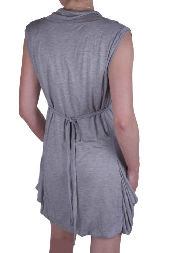 Diesel robe robe stretch hekel gris taille s