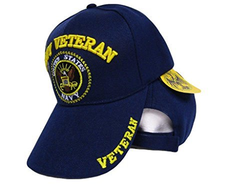 mws U.S Navy Veteran Vet Shadow Embroidered Ball Blue Cap Shadow 3D Hat  U.S. Navy 4-02-B 8b38fc2b3d1