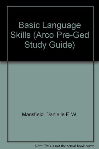 Basic Language Skills (Arco Pre-Ged Study Guide)