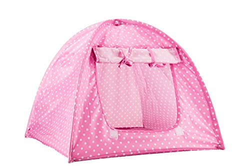 viiler-pet-supplies-washable-durable-cute-dots-style-pet-house-tent-for-small-size-dogs-and-cats-gre