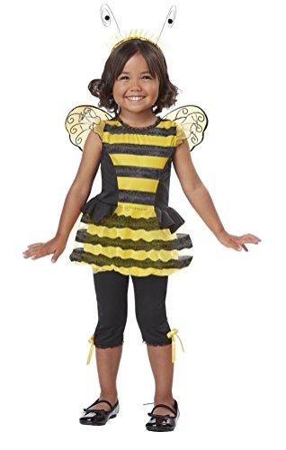 [POPLife Buzzin' Around Bumble Bee Hornet Toddler Costume] (Eye Makeup For Bumble Bee Costume)