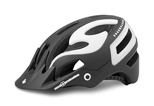 Sweet Protection Bushwhacker II Bike Helmet, Matte Black/Gloss White, Small/Medium