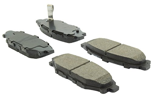 StopTech 309.11140 Street Performance Rear Brake Pad (Brakes Performance Street)