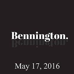 Bennington, May 17, 2016