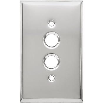Amazon.com: Deco paso estilo bronce aceitado Uno Gang Push ...