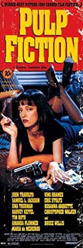 Pulp Fiction Uma Thurman Quentin Tarantino Comedy Crime