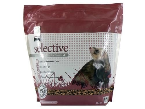 Supreme Petfoods Science Selective nutritionally complete Ferret Food 2 kg x 6 pack by Supreme