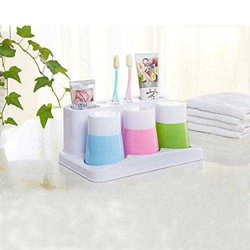 Review Eslite Toothbrush Toothpaste Holder