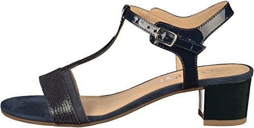 Caprice Damen 28215 Slingback Sandalen Blau