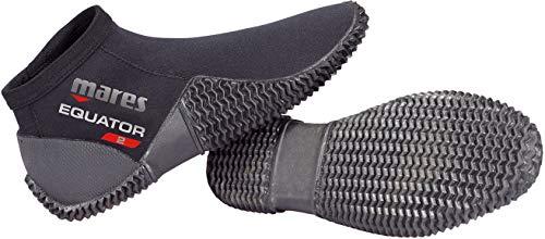 Mares Equator Boots, Unisex Adult Diving Shoe, Unisex Adult, 412636, Black, 7