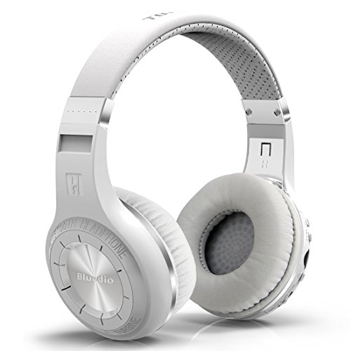 Urvoix Wireless Bluetooth 4.1 Headphones Bass Stereo Headset with Mic, Support TF(Micro SD) Card Playback, FM Radio (Noise Canceling Radio)