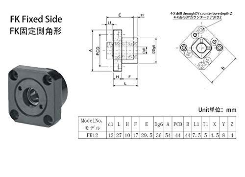 TEN-HIGH Ballscrew High Lead screw CNC parts kits SFE1616 RM1616
