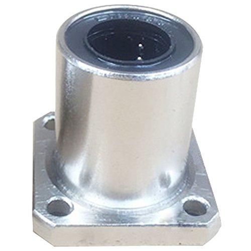 LMK8UU Roulement lineaire - SODIAL(R) Diametre interieur de 8mm bride carre lineaire Roulement a billes LMK8UU