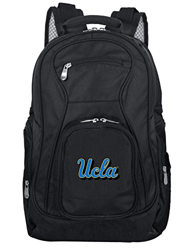 Denco NCAA UCLA Bruins Voyager Laptop Backpack, 19-inches, Black (Ucla Fan Gear)