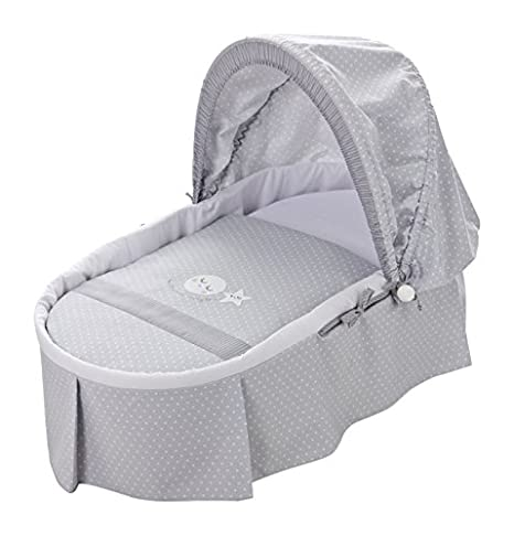 Piccolandy Good Night - Moisés bebé con capota, color gris: Amazon.es: Bebé