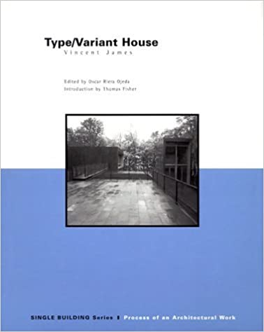 Book Type/Variant House: Vincent James (Single Building) by Oscar Riera Ojeda (1999-04-04)