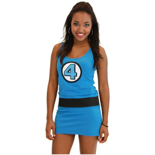 Mr Fantastic Costume (Marvel Comic Tank Dress Costume - Medium - Dress)