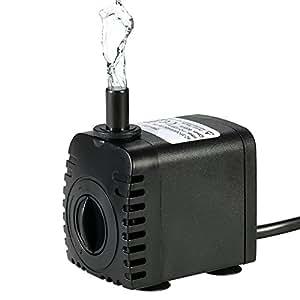Bomba de Agua Sumergible,Decdeal 600L/H 8W Water Strider