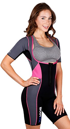 Body Spa Light Body Sauna Suit Neoprene Full Body Shaper GYM Sport Aerobic