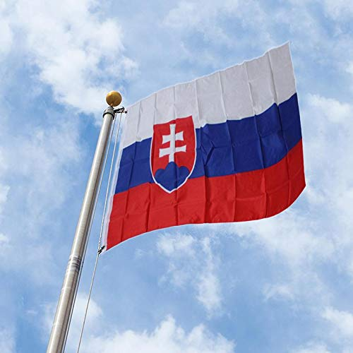 Flags, Banners & Accessories - Slovakia Flag Slovak Banner Eu 3 5ft 90 150cm Hanging Office Activity Parade Festival Home - Phone The Lite G Brazil Flag Bag Shirt Black Banner Bead Military Pro