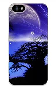 Moonlight Customized Popular DIY Hard Back Case Cover For iPhone 5S 3D