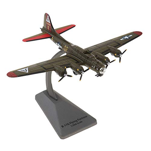 - Flameer 1:200 Military Aircraft Model B-17 Bomber Warplane for Spacecraft Fans Hobby