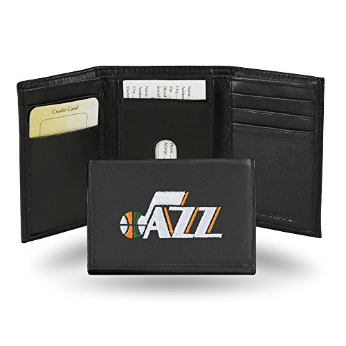 NBA Utah Jazz Embroidered Leather Trifold ()