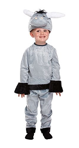 GUBA Little Girls' Donkey Fancy Dress World Book Day Party Costume Toddler 2-4 Years (Toddler Donkey Costumes)