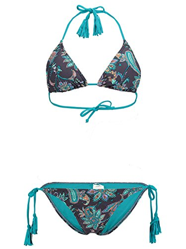 O 'Neill Paisley Bikini mujer turquesa