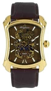 Burgmeister Wisconsin BM113-295 - Reloj de caballero automático, correa de piel color marrón