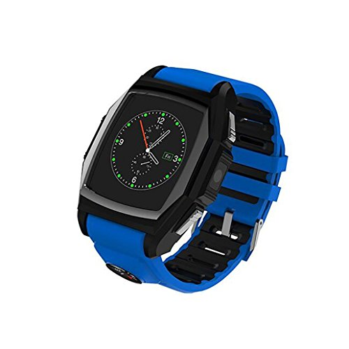 RTYou New GT68 SOS GPS Bluetooth Smart Watch Sports Pedometer Watch Heart Rate monitors for Android and IOS by RTYou